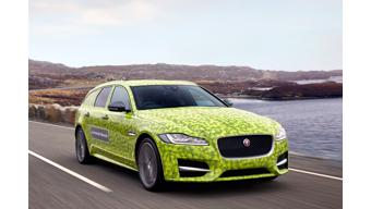 Jaguar XF Sportbrake teased ahead of 14 June launch