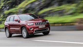 Competition check for the Jeep Grand Cherokee