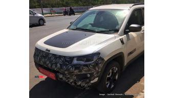 Jeep Compass trail hawk spied testing