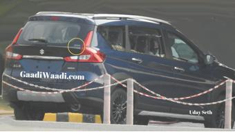 Maruti Suzuki XL6 image leaked before 21 August unveil