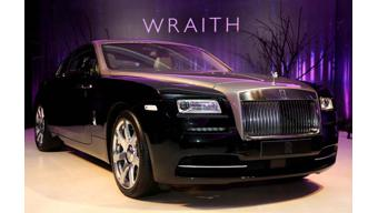 Rolls-Royce Wraith makes it debut in India; carries a price tag of Rs. 4.6 crore