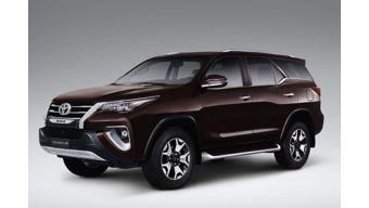 Toyota unveils Fortuner Diamond Edition in South America