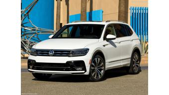 LA Auto Show 2017: Volkswagen Tiguan R-Line showcased