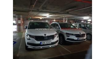 Skoda Karoq spotted in India for the first time