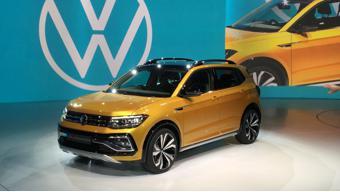 Upcoming Volkswagen  Taigun