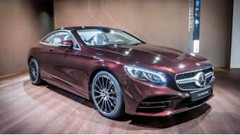Mercedes-Benz S-Class Coupe and Convertible Exclusive editions grab eyeballs at Geneva Motor Show