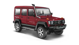 Force Motors Gurkha Soft Top 4X2