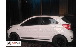 Facelifted Ford Figo spotted at dealership