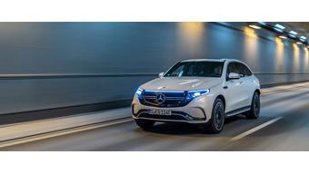 Upcoming Mercedes-Benz  EQC