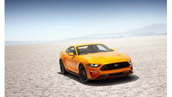 Upcoming Ford  Mustang Facelift