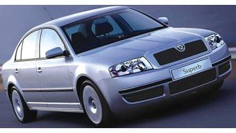 Skoda Superb Old Images