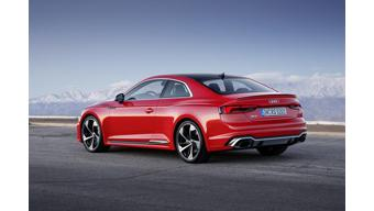 New Audi RS5 launched in the UK