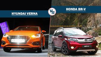 Spec comparison: Hyundai Verna Vs Honda BR-V