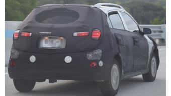 2020 Hyundai i20 Active spied on test