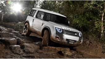 Land Rover's next Defender will be an aggressive off-roader