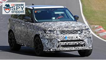 Range Rover Sport SVR facelift version spotted