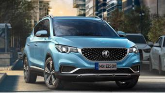 MG reveals safety features of ZS EV ahead of debut