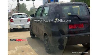 2019 Maruti Suzuki WagonR Stingray spotted testing in India