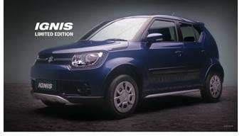 Maruti Suzuki Ignis Limited Edition now available in India