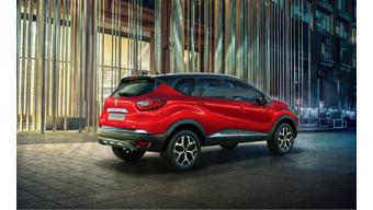 Renault Captur now available in new red colour
