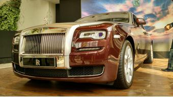 Rolls-Royce Ghost Series II launched in Chennai for 4.5 crores INR