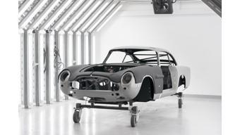 Aston Martin resurrects DB5 James Bond car from Goldfinger