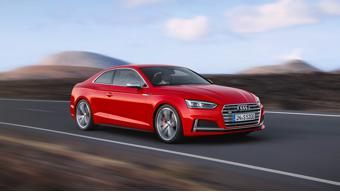 Audi reveals all new A5 and S5 coupes in Germany