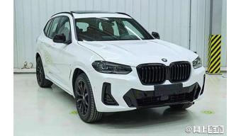 This could be the upcoming BMW X3 facelift