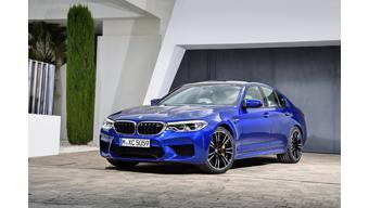 BMW reveals the new generation M5 performance sedan