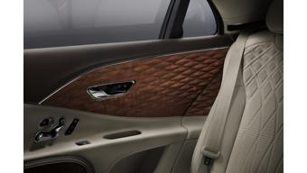 All-new Bentley Flying Spur features world's first three-dimensional wooden panels on rear door