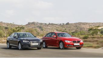 BMW 3 Series 320d vs Audi A4 35 TDI comparison