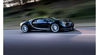 Bugatti showcases new Chiron in Japan