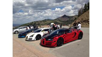 Bugatti Veyron hits 235.7 mph in the Sun Valley Road Rally 2015