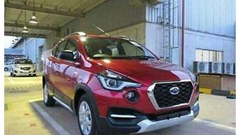 Facelifted Datsun Go spotted in Indonesia