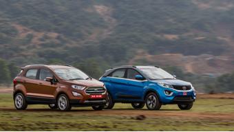 Ford EcoSport Titanium Plus TDCi vs Tata Nexon XZ Plus Diesel