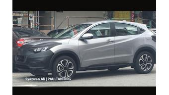 Honda HR-V 2018 facelift spotted on test