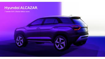 Hyundai India teases Alcazar seven-seat SUV in design sketches ahead of debut
