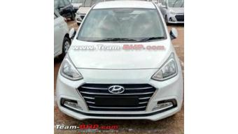 Hyundai Xcent facelift variants leaked ahead of April 20 debut