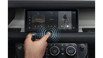 Jaguar Land Rover introduces new contactless touchscreen technology