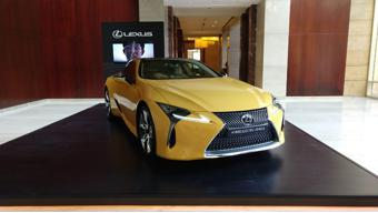 Lexus LC 500h to debut in India on 31 January