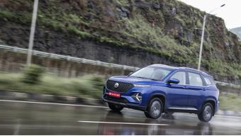 MG Hector Plus Diesel Manual First Drive Review