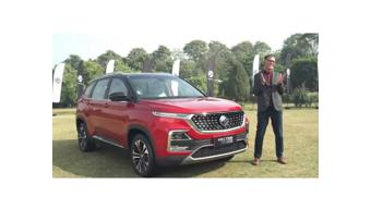 MG Hector CVT to be launched in India on 11 February