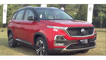MG Hector Plus 7-seater launched at Rs 13.34 lakh