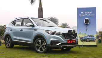 MG ZS EV launched in India at Rs 20.88 lakhs