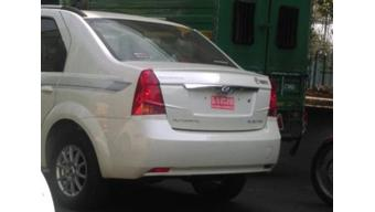 Mahindra Verito electric spotted undergoing road test in India