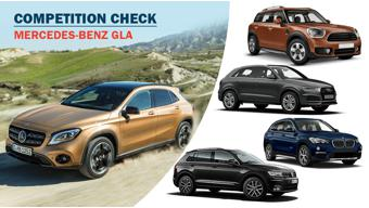Competition check: 2017 Mercedes-Benz GLA