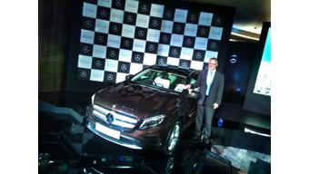 Mercedes Benz enters premium compact SUV segment with the GLA at Rs. 32.75 Lakhs