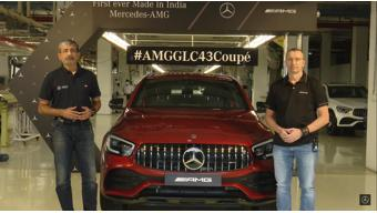 Mercedes-Benz launches new GLC 43 AMG 4MATIC Coupe in India at Rs 76.70 lakh