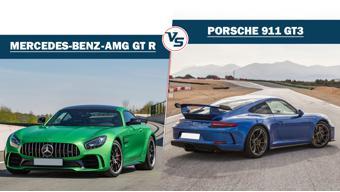 Spec Comparo: Mercedes-AMG GT R vs Porsche 911 GT3