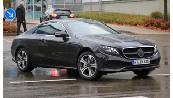 Mercedes-Benz E-Class Cabriolet and Coupe caught testing